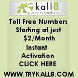 Toll Free Numbers For $2 - Podcast Voicemail From Kall8