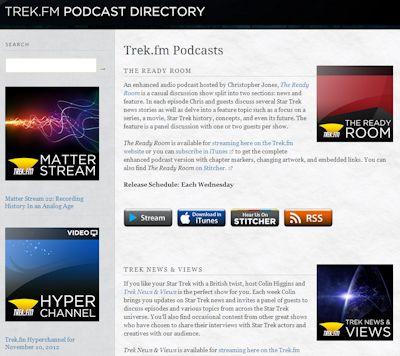 Trek.fm Directory