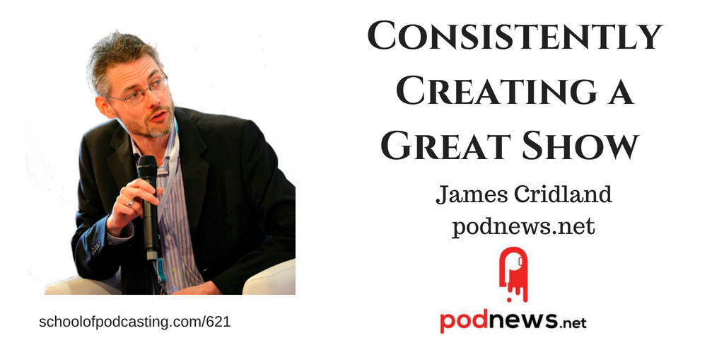 James Cridland -podnews.net