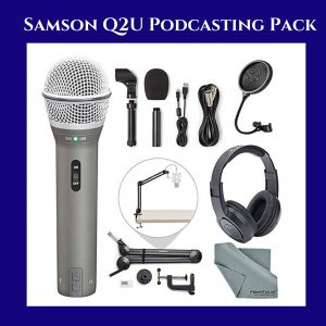 Samson Q2U Podcast Pack