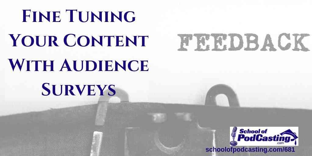 Podcast Audience Surveys