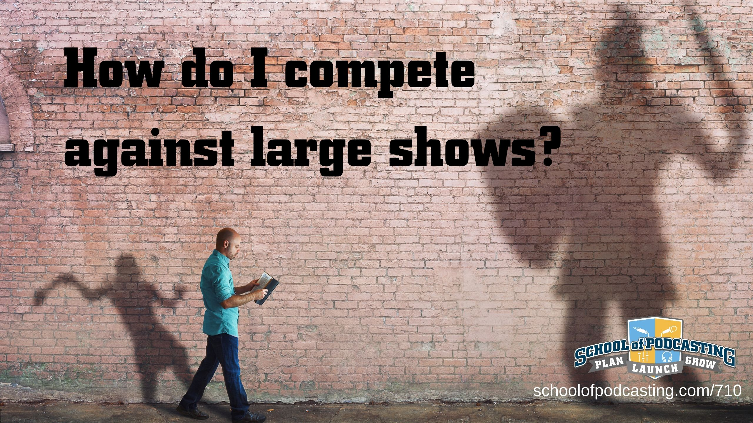 How do Small Podcasts Compete?