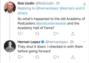 Podcasters Hall of Fame