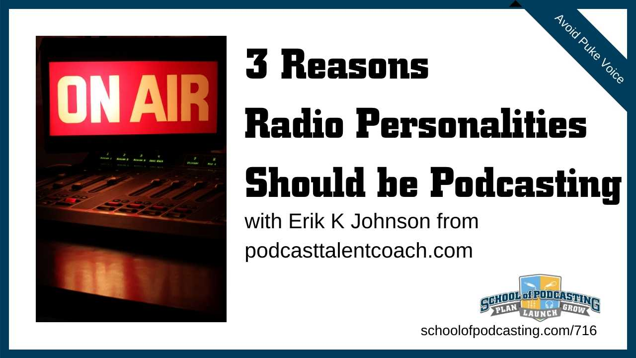 Radio Personalities Having a Podcast