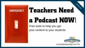 Poddcasting For Teachers