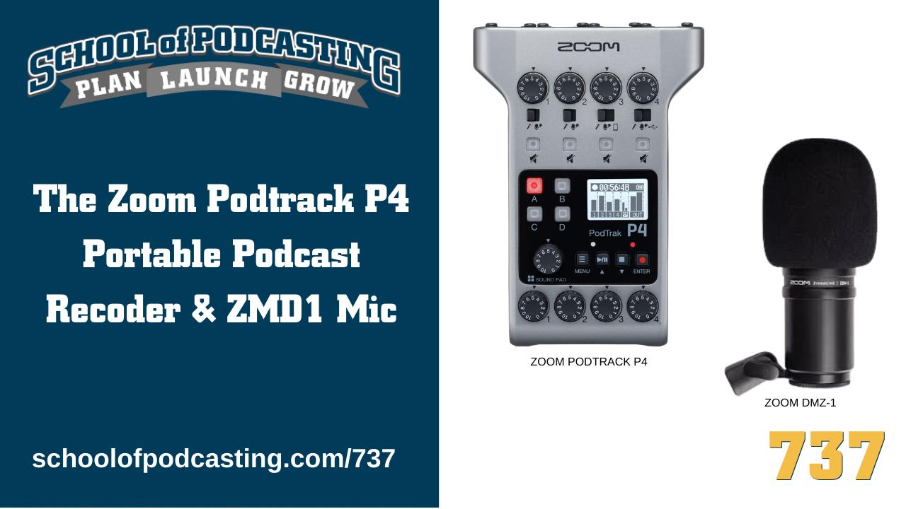 Zoom Podtrack P4 Portable Recorder