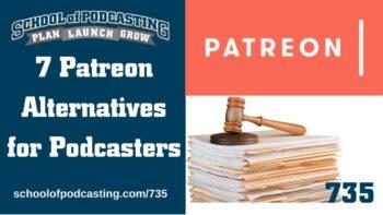 Patreon Alternatives