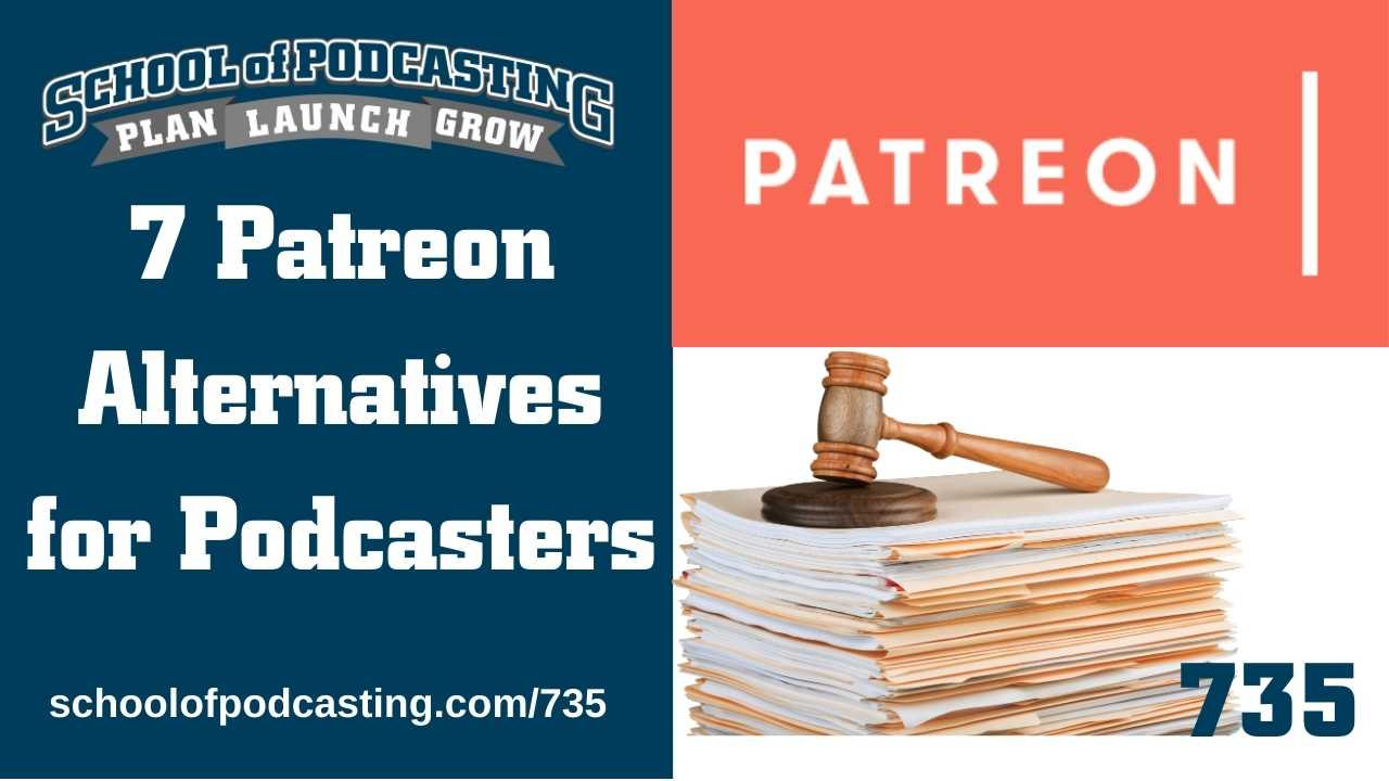 Patreon Alternatives