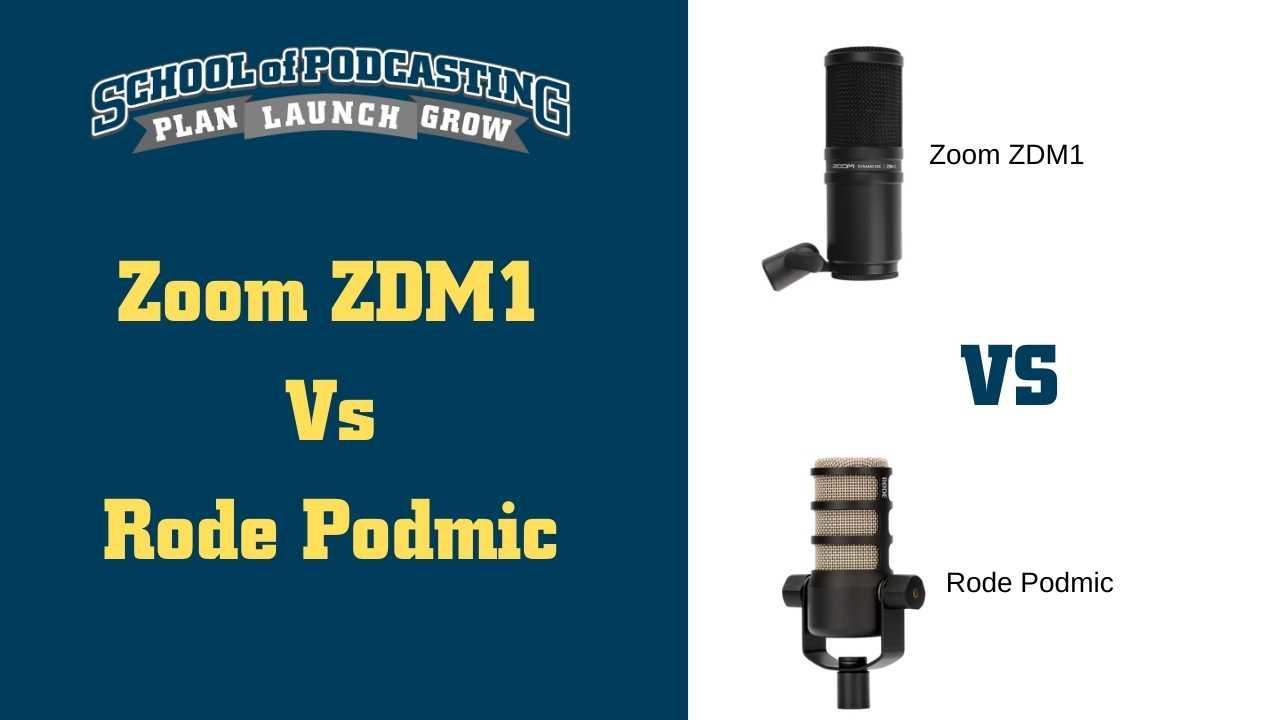 Zoom ZDM1
