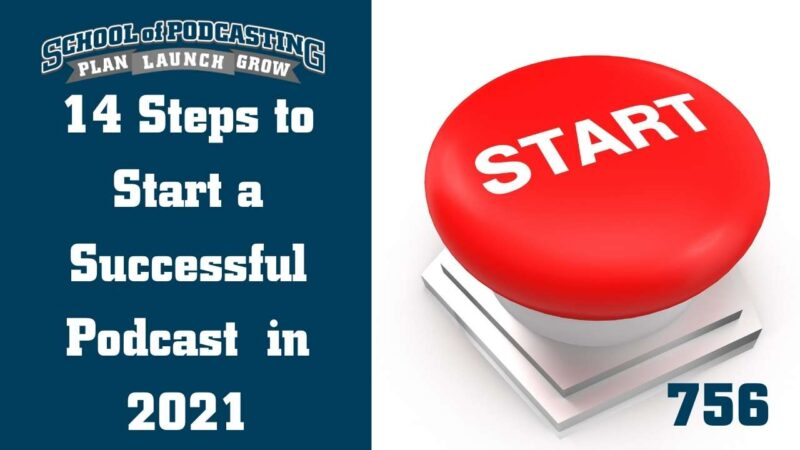 14 Steps to Launch a Successful Podcast in 2021