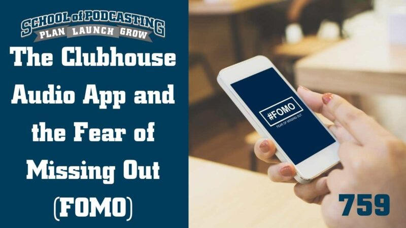 Clubhouse and FOMO-wide