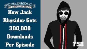 Jack Rhysider Gets 300,000 Downloads