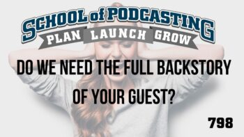 Do You Need The Full Backstory of Your Guest?